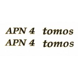 Nalepke Tomos APN4