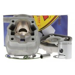 Cilinder kit Metrakit 50cc aluminium Derbi Euro 2 (EBE / EBS)