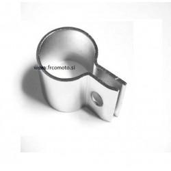 Objemka izpuha MZ TS 125 - 150   Krom.