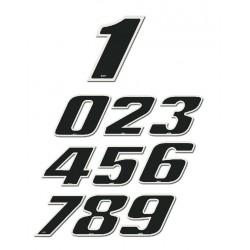 Sticker   2 - 13 cm Black