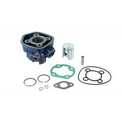 Cilinder C4 -Minarelli Horiz: Ø 40-LC- Aprilia Sr, Rally, Sonic, Area 51, Yamaha Aerox