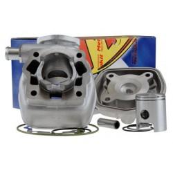 Cilinder kit  Metrakit 50cc cast iron Derbi Euro 2 (EBE / EBS)