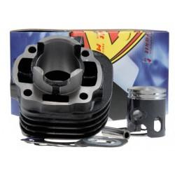 Cilinder kit  Metrakit -50cc Minarelli Horizontal- AC -Yamaha Jog / Ark /Sonic ( 10mm)
