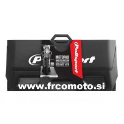 Podlaga za motor z lovilcem olja POLISPORT - Črna
