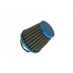 Air filter Power 38mm carburetor connection blue