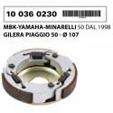 Sklopka RMS d.107 mm original - Piaggio , Gilera , Minarelli , Kymco