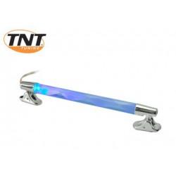 Neon tube CHROME flashing Blue - Red 12V