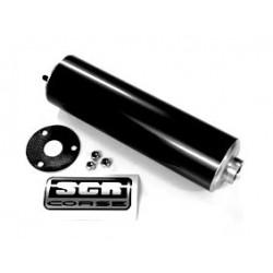 Dušilec izpuha  SCR-Corse - BLACK - 22cm