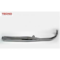Izpuh Tecno-Fast - 28mm - Tomos A3 / A35 - Crome