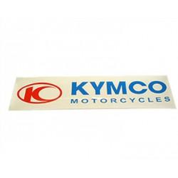 Nalepka  Kymco 111x27mm -bela