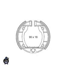 Zavorne čeljusti 90x18 set Piaggio CIAO , SI Mix