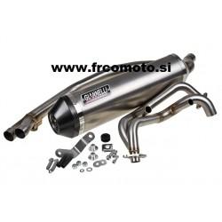 Izpuh Giannelli Ipersport Alu Carbon (E)Kawasaki Ninja 250-300 R  2013 / 2014