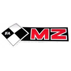 Nalepka MZ - leva
