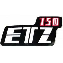 Nalepka ETZ 150 (rdeče-črno-bela)