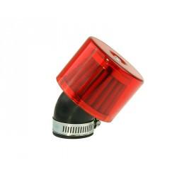 Zračni filter K&N - 35mm 45° - Rdeč- Air System