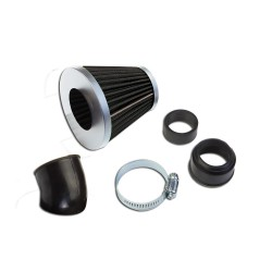 "Šporni filter zraka \""KN\"" Xl black/silver"