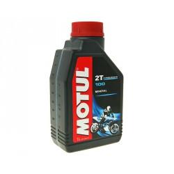 Olje 2T- 100% mineral- Motul 1L
