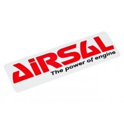 Nalepka Airsal 90x30mm