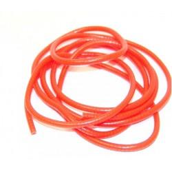 Cover Electr. Wire Fluor Orange 2 Mtr
