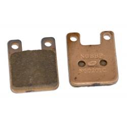 Zavorne ploščice -C4 syntered- 4Tune - Derbi, Peugeot, Rieju