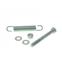 Center stand bolt and spring 85mm for Tomos A3, A35
