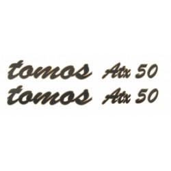 Nalepke Tomos ATX 50