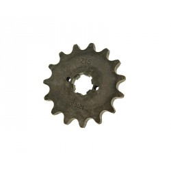 Front sprocket 420 - 15 teeth for Derbi D50B0