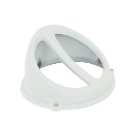 Plastika veternice -  Air Scoop - Bela - univezal - vsi skuterji  AC