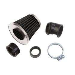 "Šporni filter zraka\""KN\"" Small black/silver"