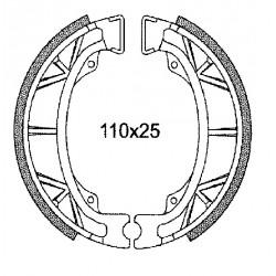Zavorne obloge C4- Malaguti, Pgt, Kymco, Sym-110x25