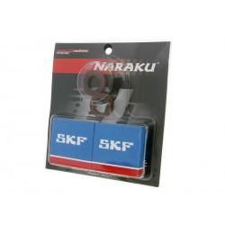 Set oljnih tesnil + ležajev Naraku SKF C4  metal cage- Piaggio / Gilera