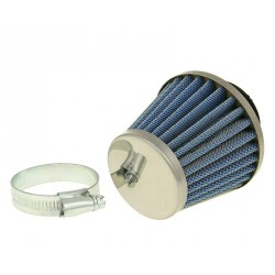 Air filter Power 35mm  connection Chrome