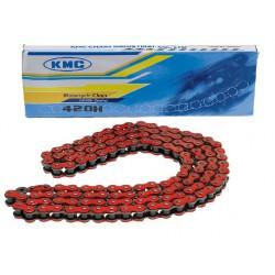 Veriga KMC   420 ( 1/2 X 1/4 )- 134 L - Rdeča