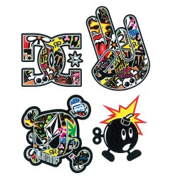 Set nalepk - Sticker Bomb