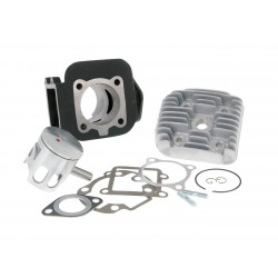 Cilinder kit Airsal Sport cast iron Green - 70cc-Minarelli vertical- Amico -Booster-Slider