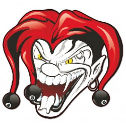 Nalepka  Joker 10 x 12cm