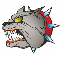 Sicker Bull Dog 14 x 16 cm