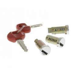 Set ključavnice - ( cilinder ) -VICMA- 3 kosi -Piaggio TPH NRG, Vespa PX