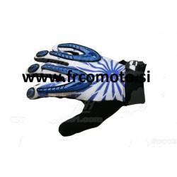 Rokavice - Gel - M Zone X2 -XS- Modre