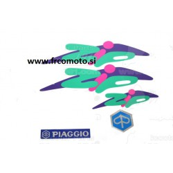Piaggio ZIP sticker set