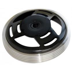 Zvon sklopke silver ring Ø 107 Minarelli