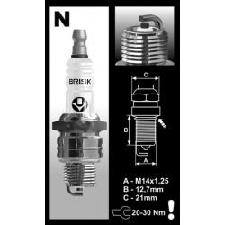 Spark plug  BRISK  SUPER N14C   (MZ/ETZ)