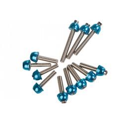Komplet vijakov bloka motorja PEUGEOT - modri