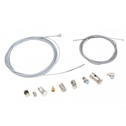 Throttle and clutch cable repair kit universal