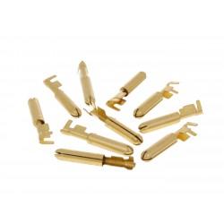 Konektori za žicu muški okrugli - 10 kom