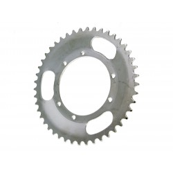 Rear sprocket 45 teeth silver color for Puch Maxi