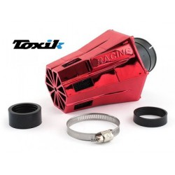 Zračni filter Toxik Air Filter d.28-35 Evo 30° -RED CROME