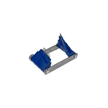 Calibrator sesalnih šob  Tec 0,45-1,50mm