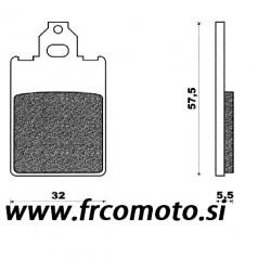 Zavorne ploščice - C4 - F12, X-Limit, DT 50