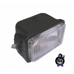Headlight cube with glass - OEM